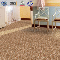 cut+loop carpet/wool polyester blend for hotel rooms