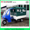 Best Price Ambulance!! 3 wheel with canopy covered tricycle ambulance