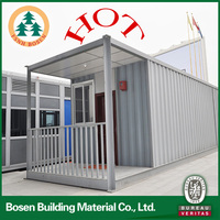 sandwich panel steel modular portable container housing with best price bosen