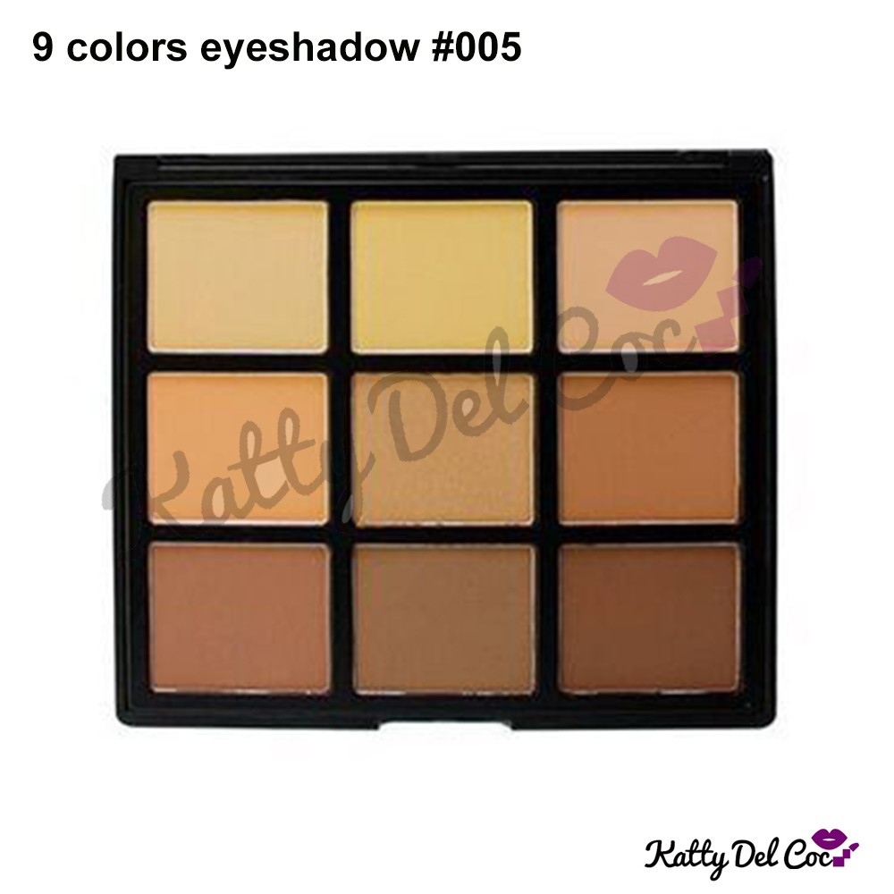 Make your own logo 9 color eyeshadow ground 4 colors