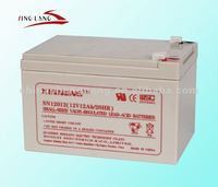 Rechargeable lead acid storage battery 12v12AH