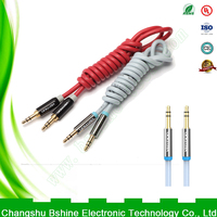 The 3.5 mm jack plugin male cable manufacturer