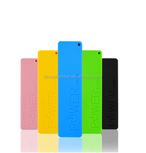 China supply cheap wholesale mini portable smart mobile rohs slim power bank case 2600mah universal external battery