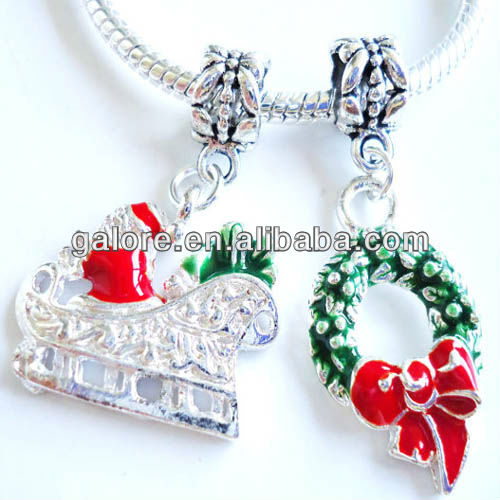factory sales custom made christmas charms fress shipping