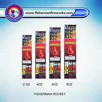 High quality Fisherman Rocket / Outdoor fireworks 2 4 6 8 OZ for sale