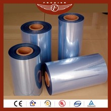 Chemical resistance high transparency plastic roll semi rigid pvc film