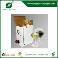 CORRUGATED FIBERBOARD BOX SOFT DRINK SYRUP BAG IN BOX FP106667