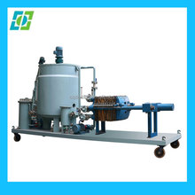 Professional Waste Black Engine Oil Regeneration distillation to diesel oil purifier Machine