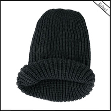 New Fashion Unisex Winter Knitted Slouch Without Visor Beanie Crochet Hat Cap