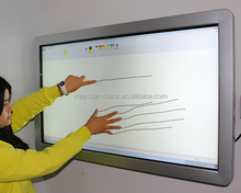 55 inch high quality touch screen 3G network wall mounted lcd Monitor