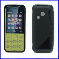 2014 Newest S Line TPU Case For Nokia 220