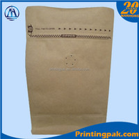 kraft paper poly lined bag tobacco pouch