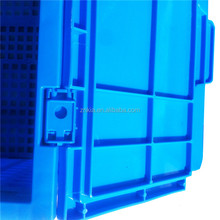 Collapsible PP storage container with lids
