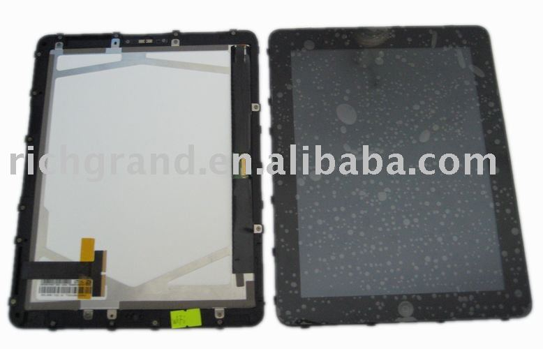 for Apple Ipad lcd display and touch screen original and new