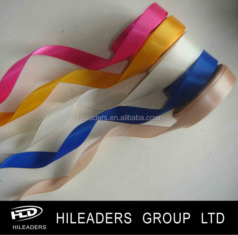 Coloful polyester celebrate it satin ribbon