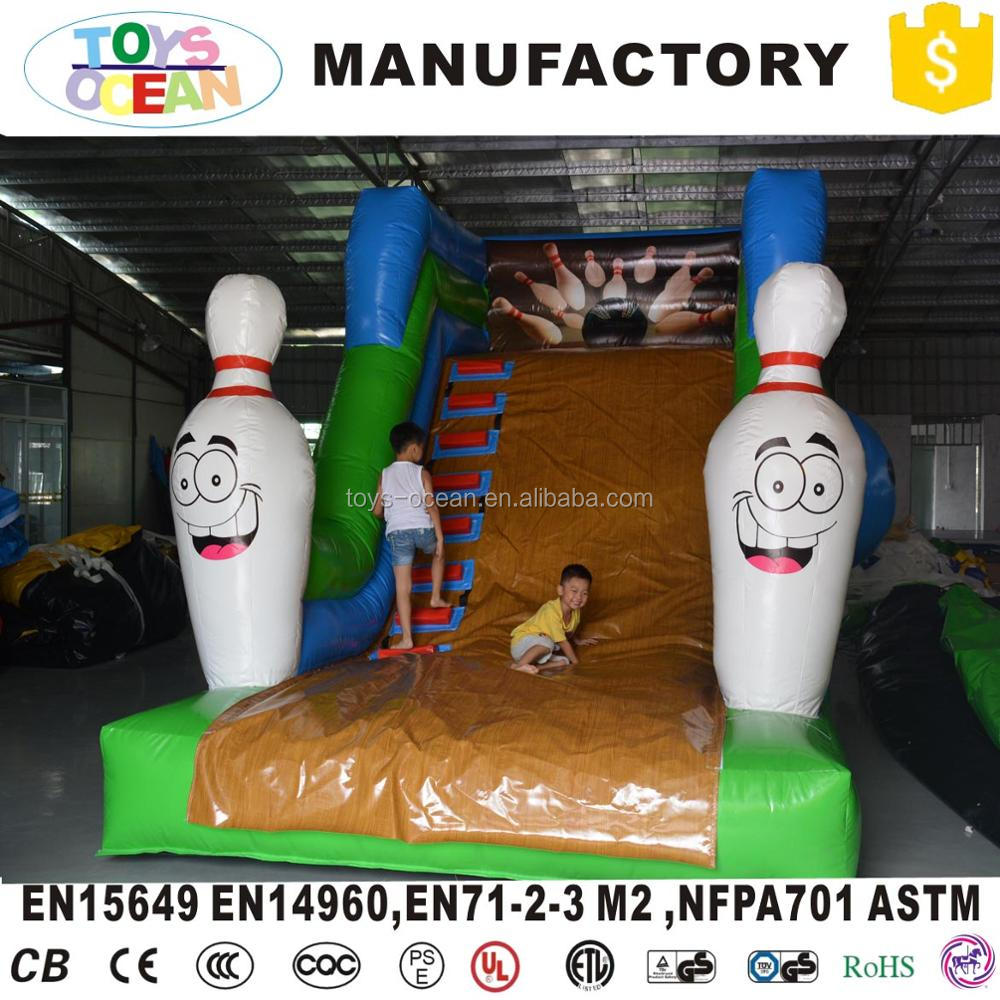 inflatable bowling bouncer slide jumping castle