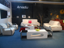 2015 Anadu 1+2+3 Leather Sofa Suite