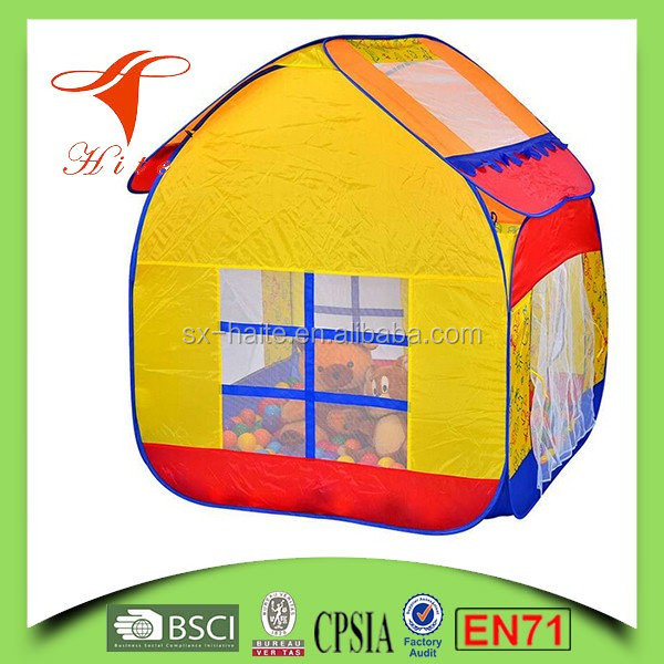 Kids tent pop up large play house tent ball tent