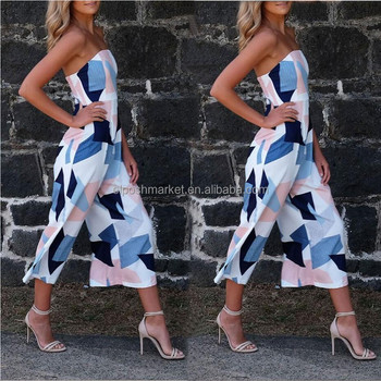 NEW Fashionable Summer Women Jumpsuit Halter