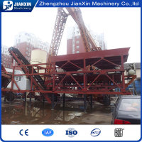 China manufacture of yhzs 25 mobile concrete batch plant price