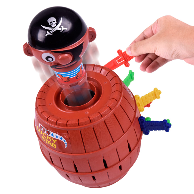 Popular funny novelty 16 swords tricky game <strong>toys</strong> pop up pirate