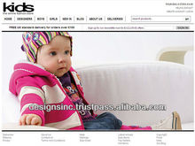 clothes online shopping cart ecommerce website design and development