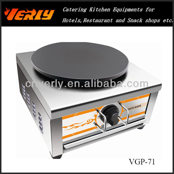 Popular Crepe Machine VGP-71 Gas Single