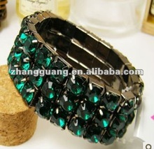 2012 cheap artificial diamond fashion bangles and bracelate