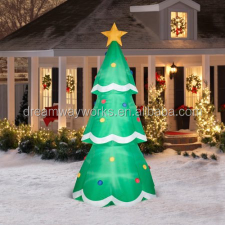 2017 Hot sale inflatable christmas tree for decoration