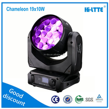 LED Moving Head lights LED Aura wash 19X10W RGBW 4in1 Aura Martin Dj Disco theater lights from Hi-Ltte in 2016