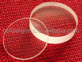 Factory Ultra Clear Round Shape Borosilicate Glass