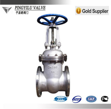 Stainless Steel 4 inch butt weld gate valve dimensions factory