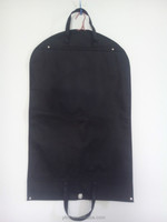 Black Non-woven Garment Bag for Suit