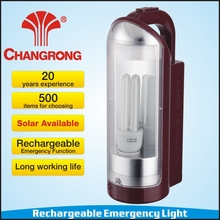 multi-functional portable rechargeable 14W u tube fluorescent camping lantern