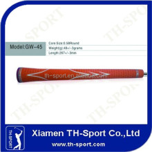 Orange Rubber Golf Iron OEM Swing Grip