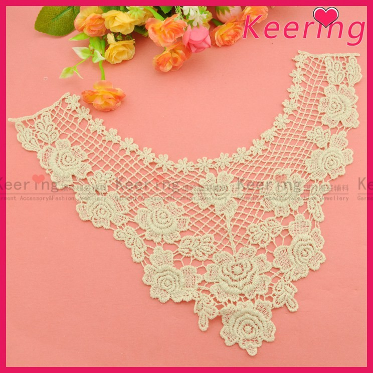 fashion venice women cotton crochet lace collar for garments WLS-583