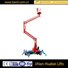 Small articulating man boom lift / cherry picker sales