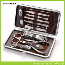 Fashionable manicure set/popular professional pedicure kit/girl's lovely nail salon tool