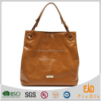 S1079-A4057 metallic color luxury hand bags women Europe design genuine leather handbag ladies brand handbags