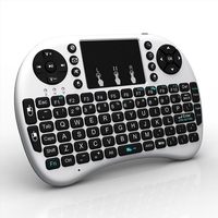 1Chip 2.4Ghz i8 keyboard Built-in with High Sensitive Smart Touchpad flying remote
