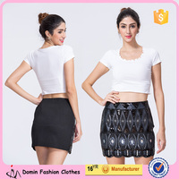 New Design Wholesale Women Clothing Manufacturer Sequin Mini Party Skirt