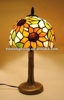 Tiffany Glass Sunflower 8 Inch Table Light and lighting lamp,TFD-8149