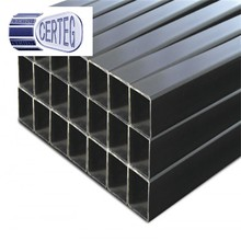 Q345 erw black square tube/hollow section,erw black rectangular welded steel pipe