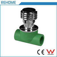China Supplier High Quality double end stop valve ppr pipe fittings