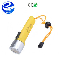 NEW Diving Torch CREE T6*1 LED 1000 Lumen Diving Flashlight
