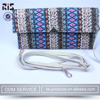 Oliviabyky ethnic design leather ladies and purses fancy clutch bags beaded OEM ODM