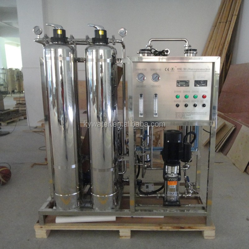 500L/H reverse osmosis plant ro drinking water filters for wash machine
