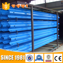Top Accessed guardrail supplier / Long life using w beam safety highway guardrail