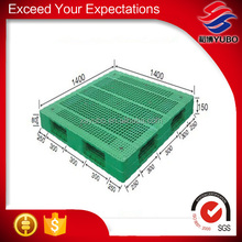 China cheap green color plastic pallet