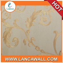 classic pvc rope wallpaper for home decoration